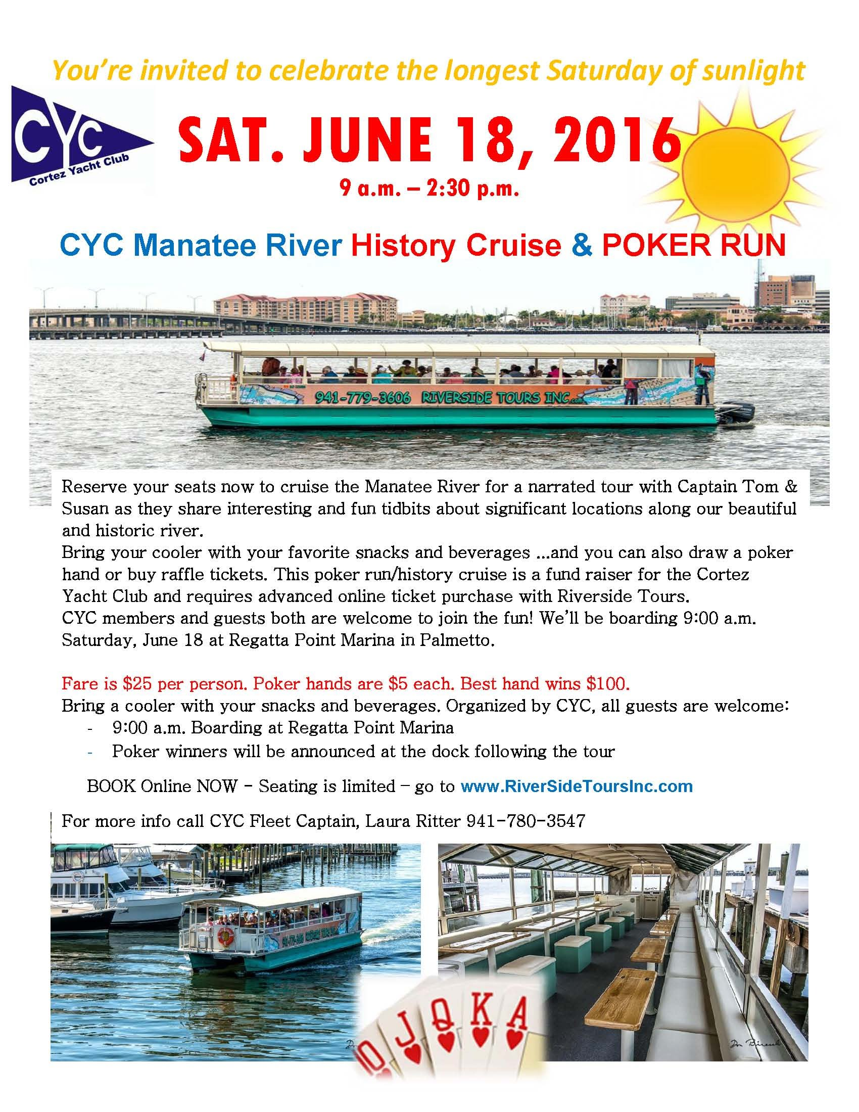 RIVERSIDE TOURS book now!