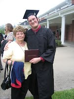 Ryan and Grandma at Graduation