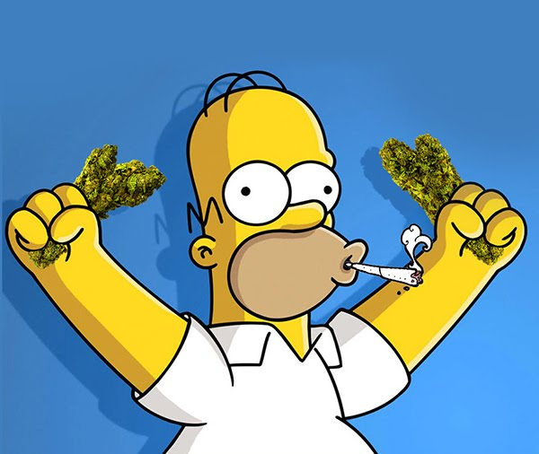 Cartoon Characters Smoking Weed : Cartoon stoners thedankhit