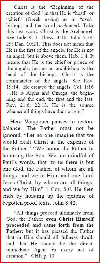 Preincarnate Son of God