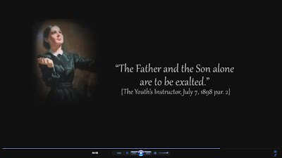 Father and Son ALONE are to be EXALTED