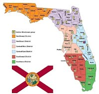 Florida active counties