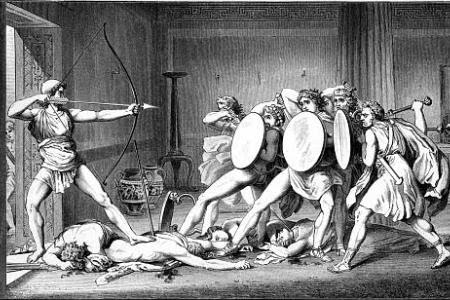 telemachus role in the odyssey