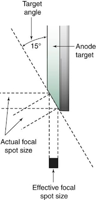 Focal Spot Size Components Of A Radiographic Image