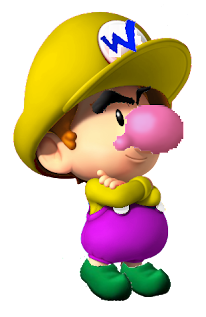 Baby Wario The Mario Characters