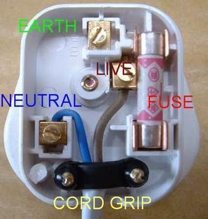 q. The Live, Neutral, Earth Wires and Fuse Power Ratings - Theme 5 ...