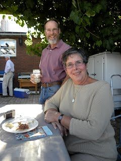 Jan and Jim Loverin-your hosts