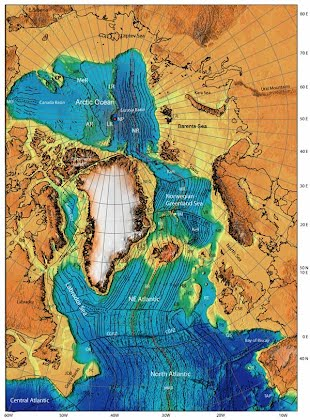 geographical map of america 2. Paleocene Climate, Geography & Life   The Paleocene Eocene