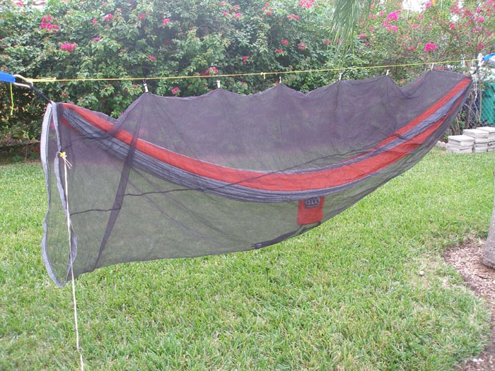 you can see the open side here versus the tapered foot end of the    sold   hammock  u0026    rh   hammockforums