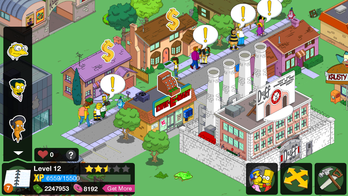 the simpsons tapped out free donuts no survey