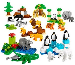 LEGO Education 6100411 Wild Animals Set - The Best Toys And