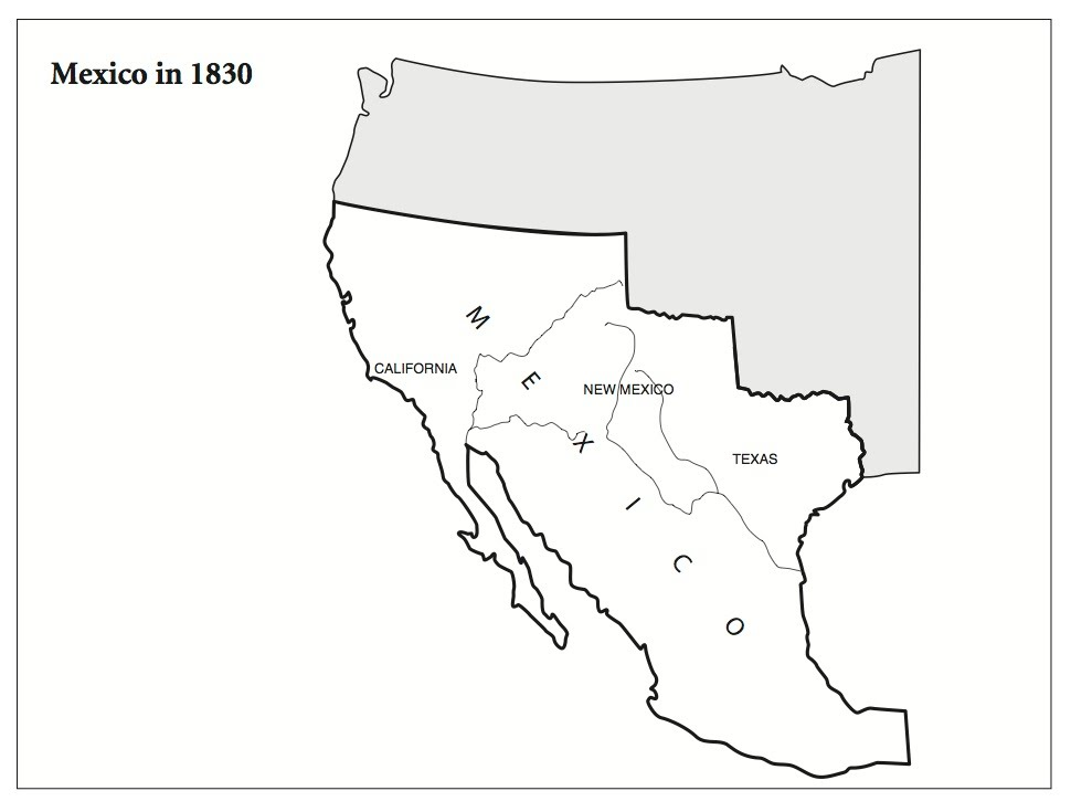 100 Map Of Mexico Blank Superb United States Map Blank With