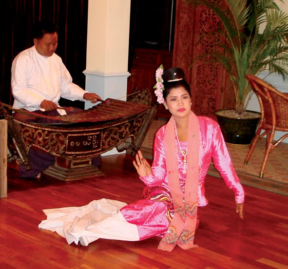 burmese classical dance things myanmar