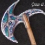 Battle axe marbled