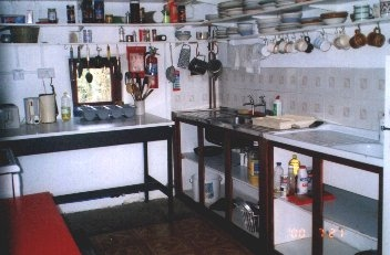 The Old Stables - the kitchen