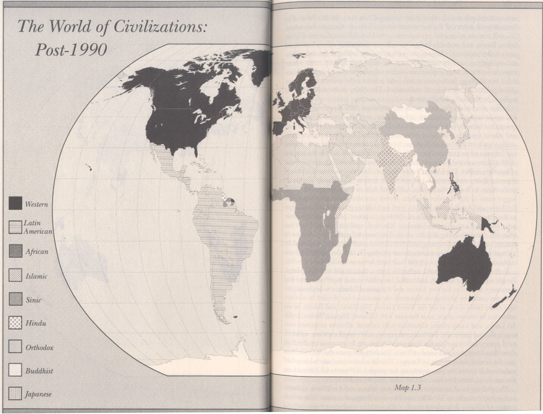 the clash of civilization and the remaking of world order essay Lastly, civilizations that would like to live peacefully with others and do not seek the dominance of major cultures (west), resulting it to follow the closest to their traditions (india) huntington's thesis of the emerging world order came otta bit to simple tor it to be only seven major civilizations.