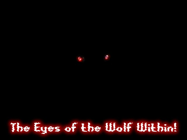 From TigerSan's PhotoBlog: Health Food Blues: The Eyes of the Wolf Within