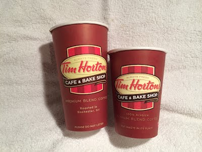 how to open tim hortons cup