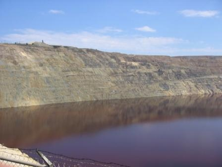 Berkeley Pit Flooded