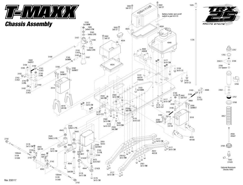 traxxas rustler parts diagram traxxas xo