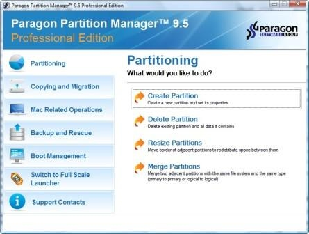 Free Partition Manager 9 5 Professional Serial Number Key Code