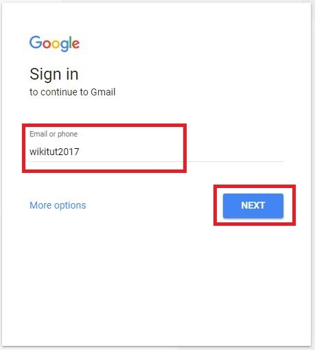 Gmail inbox sign in page