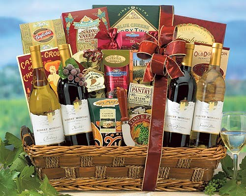 Sonoma County Wine Country Basket 1 $150