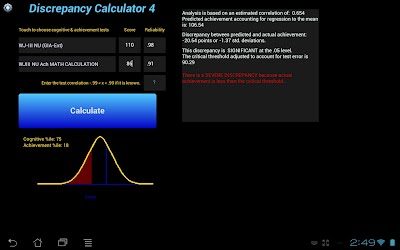Discrepancy Calculator for Android