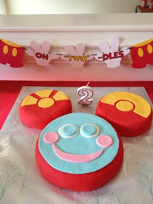 Awesome Toodles Cake And Pants Banner Toodles Birthday Party Funny Birthday Cards Online Alyptdamsfinfo