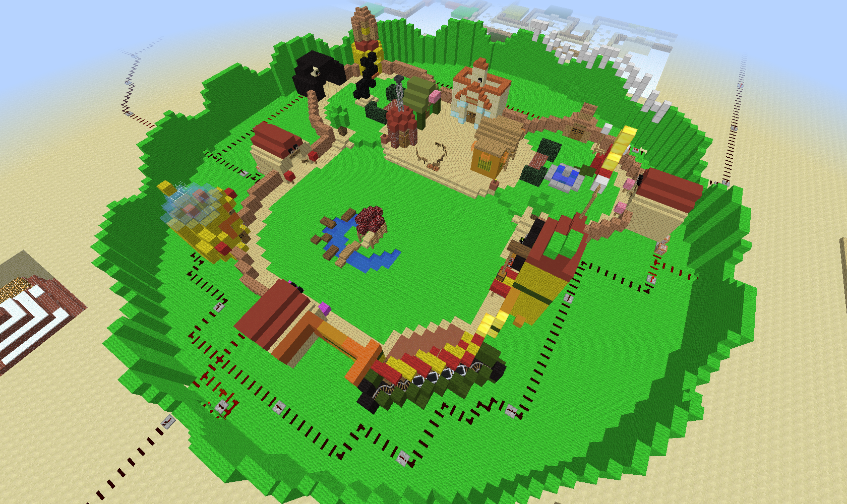 Toontown In Minecraft