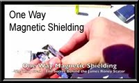 One Way Magnetic Shielding