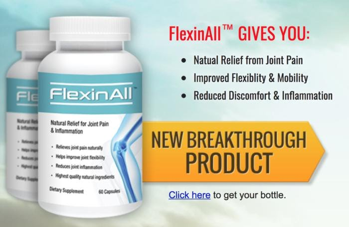 Flexinall Reduce Joint Pain And Get Results With This Formula