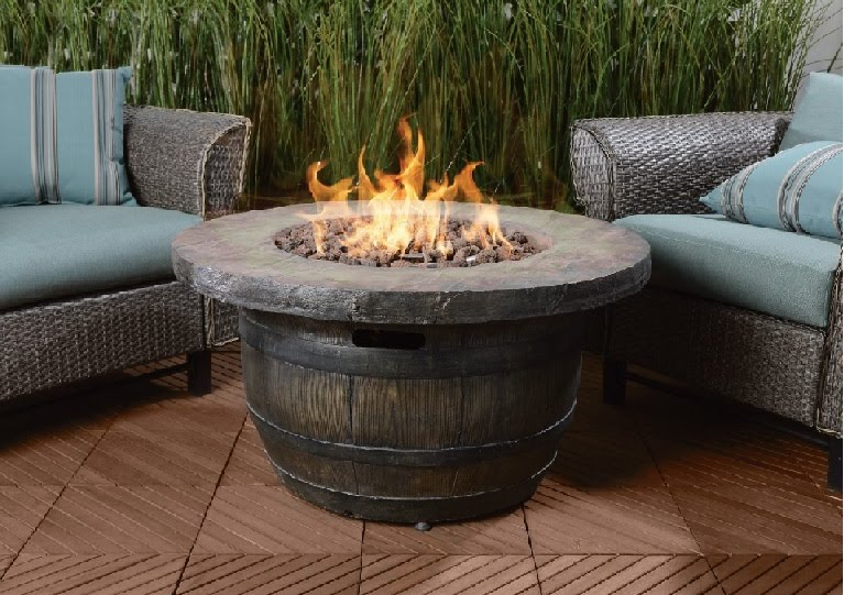 vineyard propane fire table - Propane Fire Table