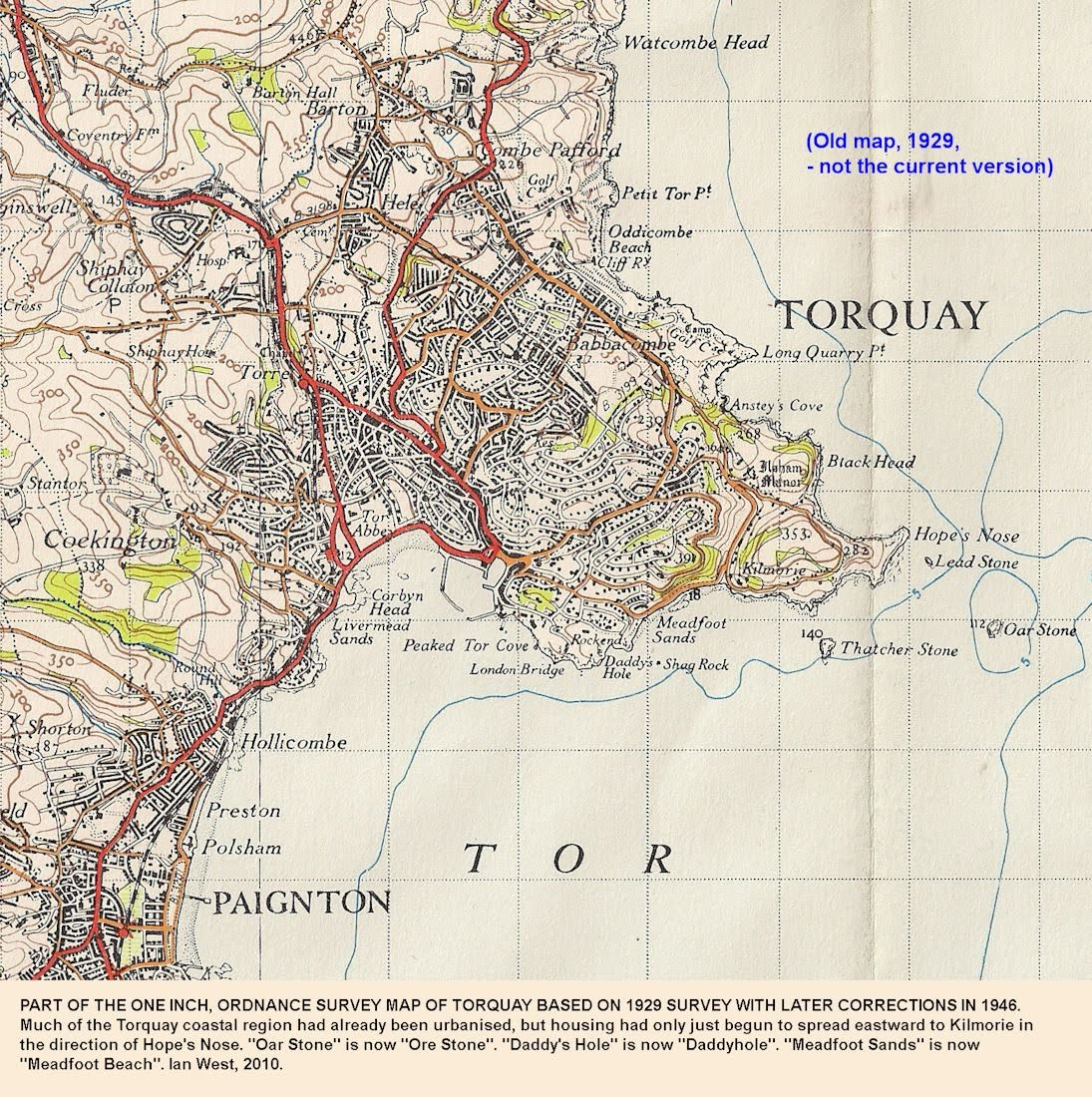 Old Maps Torquay and Me 2