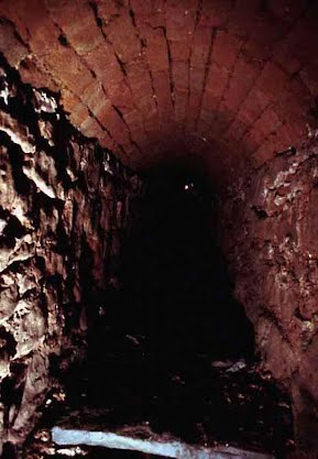 Inside view of the Great Cistern