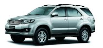 Toyota Fortuner bac