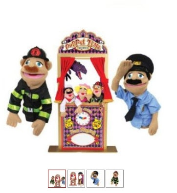 Black Friday On Melissa And Doug 2530 Deluxe Puppet Theater With