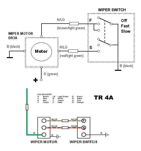 how to wire a lucas alternator diagram images alternator wiring lucas dr3 wiper motor wiring diagram u0026