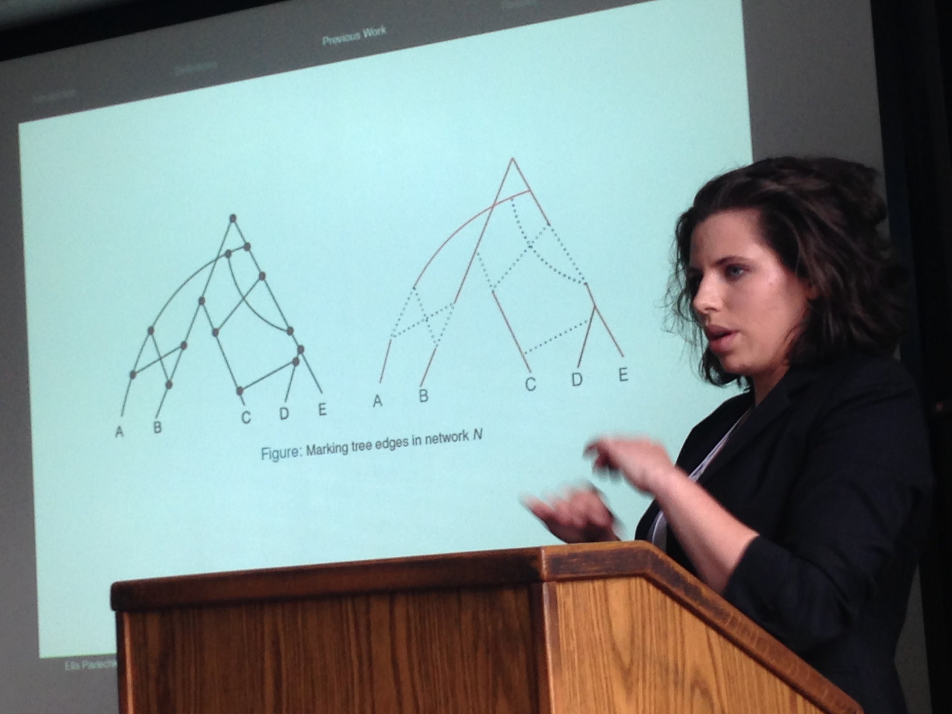 Ella Pavlechko talks at Hunter AMS Meeting Ella Pavlecho a member of the Fall 2015 REU Cohort presented results from the cohort on tree-based networks at ...  sc 1 st  Google Sites : ams sectional meeting - Sectionals, Sofas & Couches