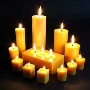 Our Candles Are 100 Pure Beeswax They Burn Brightly And For A Long Time If Cared Correctly