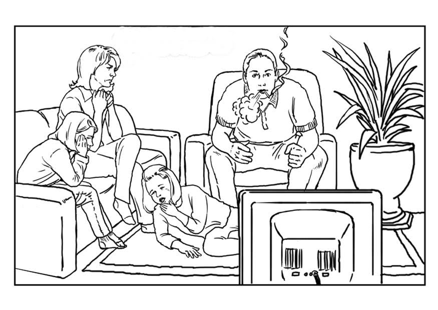 Stop smoking coloring pages