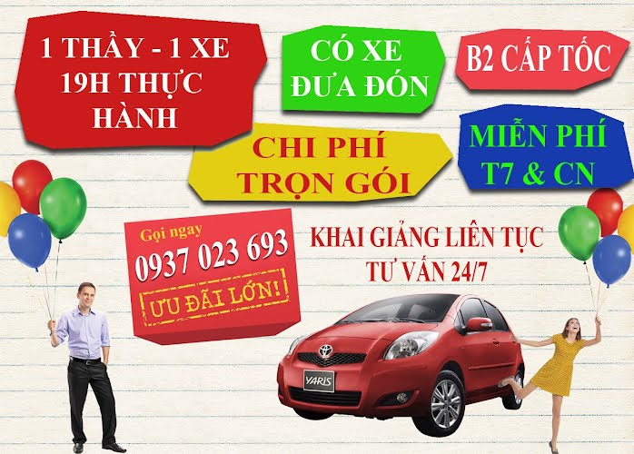 truong day lai xe oto tien thanh
