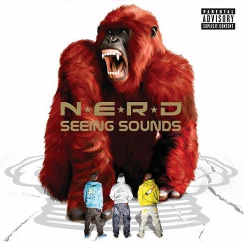 Tapa de Seeing Sounds, tercer disco de N.E.R.D.