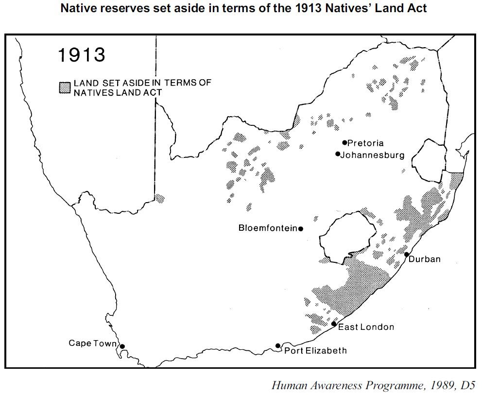 NATIVE LAND ACT 1913 DOWNLOAD
