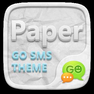 GO SMS PRO PAPER THEME - apk