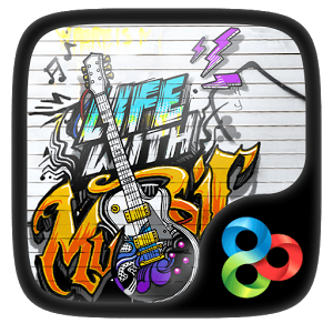 Music Life Theme GO Launcher Provides Delicate App Icons Wallpaper Folders Interface And Drawer Perfect Friendly Download Now Have A