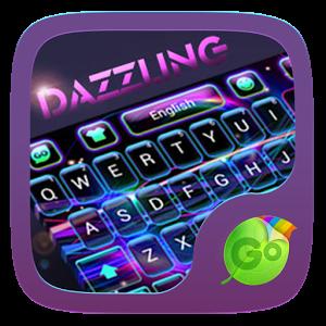 Dazzling GO Keyboard Theme - apk