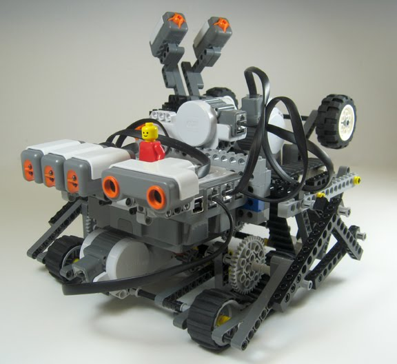 Tank Bot - LabVIEW for Lego MINDSTORMS Projects
