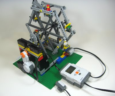 Ferris Wheel - LabVIEW for Lego MINDSTORMS Projects