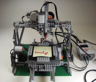 LEGO CNC - LabVIEW for Lego MINDSTORMS Projects